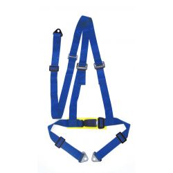 "3 POINT - HARNESSES"" (50mm), blue"