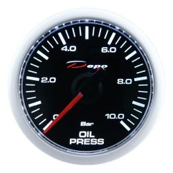 DEPO racing gauge Oil pressure - Night glow series