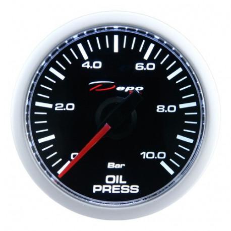 Gauges DEPO night glow series 52mm DEPO racing gauge Oil pressure - Night glow series | races-shop.com