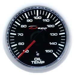 DEPO racing gauge Oil temperature - Night glow series