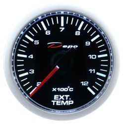 DEPO racing gauge Exhaust gas temp - Night glow series