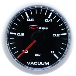 DEPO racing gauge Vacuum - Night glow series