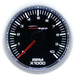 DEPO racing gauge Tachometer - Night glow series