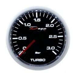 DEPO racing gauge Boost - diesel - Night glow series