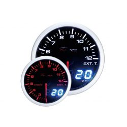 DEPO racing gauge Exhaust gas temp - Dual view series