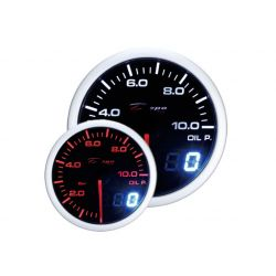 DEPO racing gauge Oil pressure - Dual view series