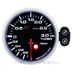 Programmable DEPO racing gauge Boost -1 to 3BAR