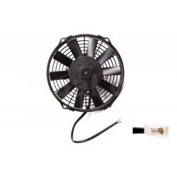 Universal electric fan SPAL 225m - suction, 12V