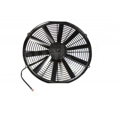 Fans 12V Universal electric fan SPAL 385mm - suction, 12V | races-shop.com