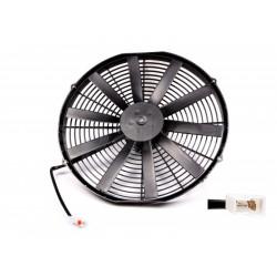 Universal electric fan SPAL 385mm - blow, 12V