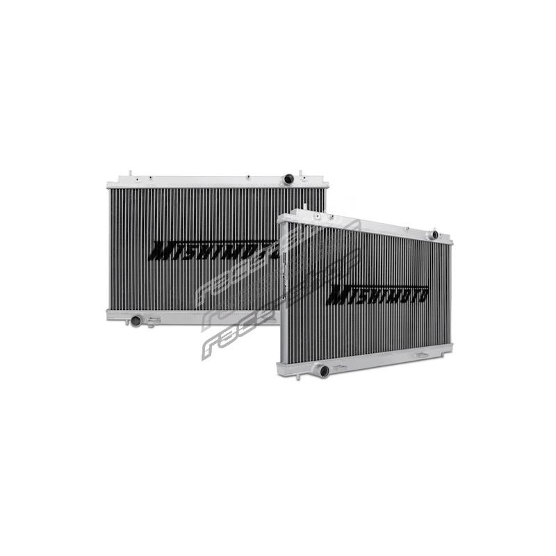 Mishimoto Racing Aluminum Radiator for 07-09 Nissan 350Z VQ35HR Manual Tranny