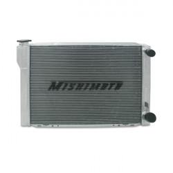 "SPORT COMPACT RADIATORS - UNIVERSAL Mishimotorsports 26""x17""x3.5"" Dual Pass Race Radiator"