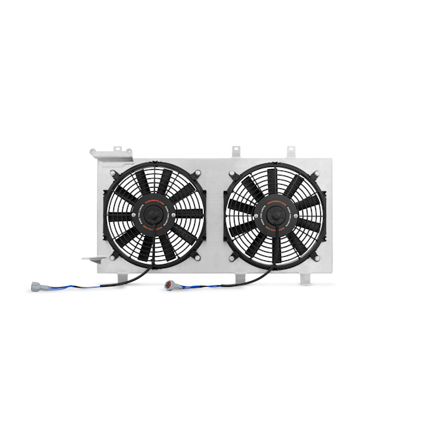 SUBARU IMPREZA WRX STI MISHIMOTO ALUMINUM RACING FAN SHROUD KIT FOR 2008