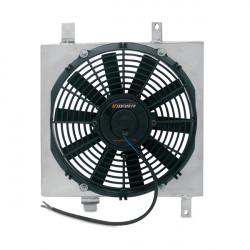 "SPORT COMPACT FAN SHROUDS Mishimotorsports 26""x17""x3.5"" Dual Pass Race Radiator Fan Shroud Kit"