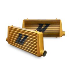 SPORT COMPACT INTERCOOLERS Eat Sleep Race Special Edition M Line Intercooler - All Gold