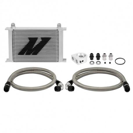 Mishimoto Thermostatic Universal 10 Row Oil Cooler Kit Black