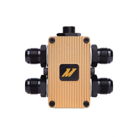 The oil filter adapters Mishimoto In-Line Oil Thermostat   races-shop.com