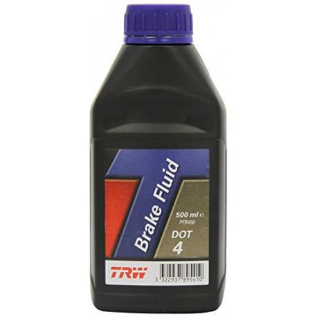 Brakes fluids Brake fluid TRW DOT4 - 0,5l | races-shop.com