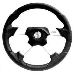 Steering wheel Luisi Vega, 350mm, polyurethane, flat