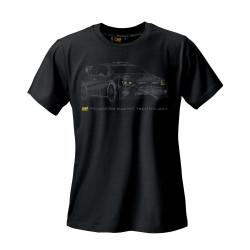 T-shirt OMP rally black