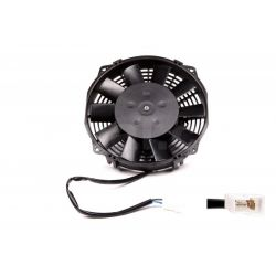 Universal electric fan SPAL 167mm - suction, 12V