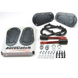Aerocatch - Flush non locking, carbon look