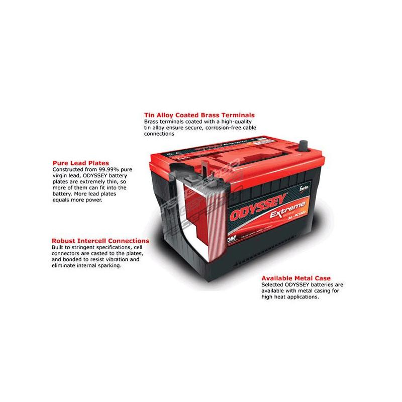 Odyssey PC680MJT Extreme Series Battery