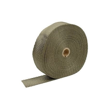 Insulation wraps Exhaust insulating wrap titanium 50mm x 10m x 2mm | races-shop.com