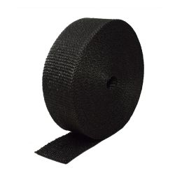 Exhaust insulating wrap black 50mm x 10m x 0,8mm