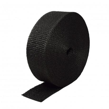 Insulation wraps Exhaust insulating wrap black 50mm x 10m x 1mm | races-shop.com