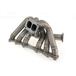Stainless steel exhaust manifold Toyota Supra 1JZ-GTE TURBO (external wastegate output)