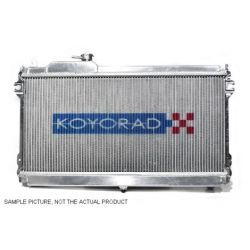 Alu performance radiator Koyorad Isuzu D-MAX, 02.10~04.10