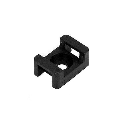 Cable ties and holders Cable tie holder black 10psc | races-shop.com