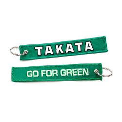Keychain Takata go for green