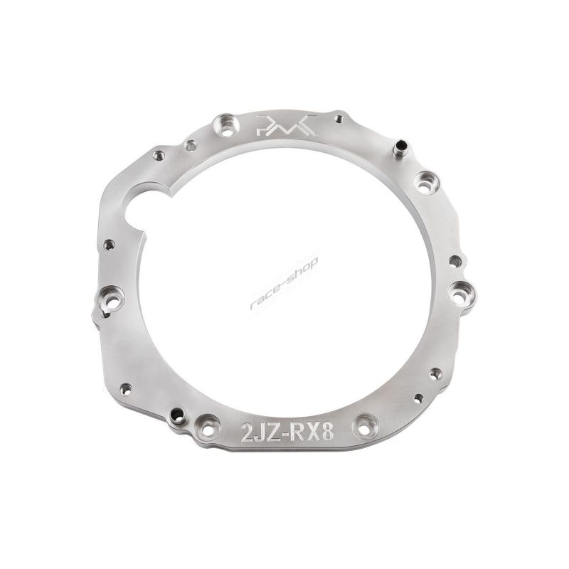 Engine adapter plate Toyota 1JZ / 2JZ to Mazda RX8 gearbox