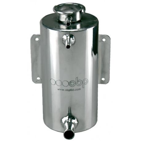 Expansion Tank 1.5L For Horizontal Round  Coolant Bottle Aluminum Overflow tank