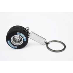 Keychain wheel with Michelin tyre