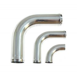 """Aluminium pipe - elbow 90°, 76mm (3"""")"""