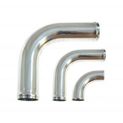 """Aluminium pipe - elbow 90°, 57mm (2,25""""), length 25cm"""