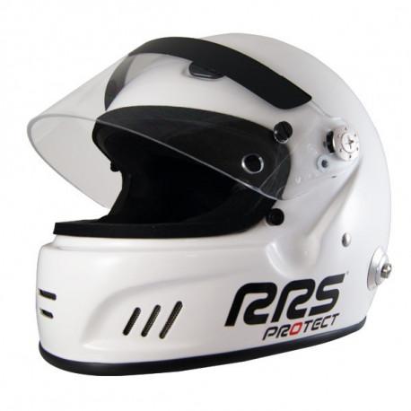 Full face helmets Helmet RSS Protect CIRCUIT with FIA 8859-2015, Hans | races-shop.com