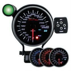 Programmable dual view Speedometer DEPO 95mm