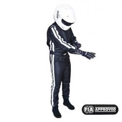 FIA race suit RRS EVO Diamond Black