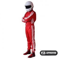 FIA race suit RRS EVO Diamond Red