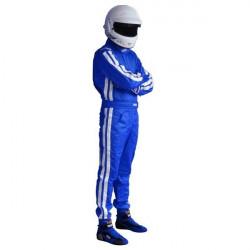 FIA race suit RRS EVO Diamond Blue