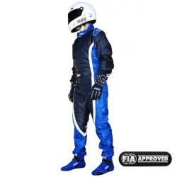 FIA race suit RRS EVO Victory Blue