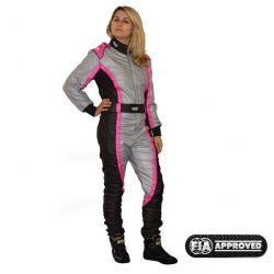 FIA race suit RRS EVO Victory Red