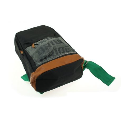 Bags, wallets Bride backpack with green Takata straps | races-shop.com