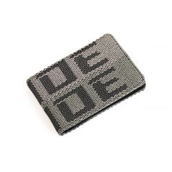 Wallet Bride JDM style ZIPPER grey