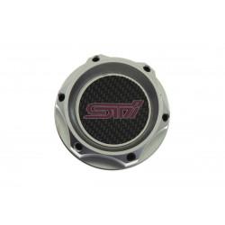 Aluminium oil cap SUBARU STI 6z