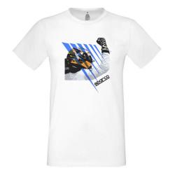 T-shirt Sparco white